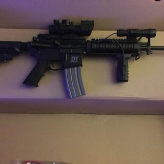 Del-Ton DT Sport Mod 2 Black  223 Rem / 5 56 NATO 16-inch 30rd