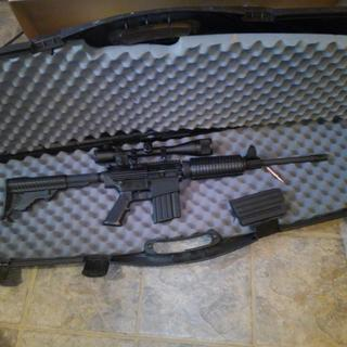 DPMS AR10 oricale LR, love it, it's a bad boy. Shoots great and for the price not a bad looking gun