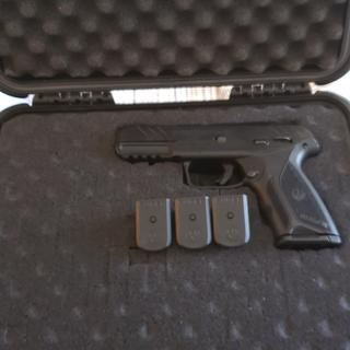 Ruger Security-9 Black 9mm 4-inch 15Rds