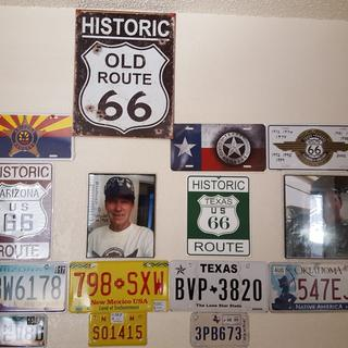 This is my US66 wall with all 8statez