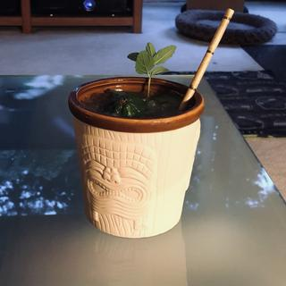 A mai tai in action...