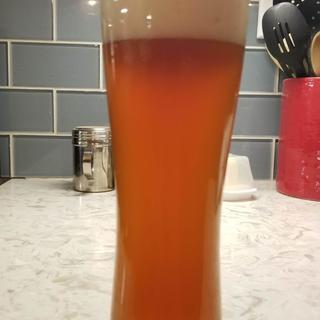 Columbus IPA dry hopped with 1/2 oz Amarillo and 1/2 oz Millenium hops.
