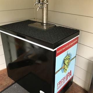Great looking tap and drip tray.