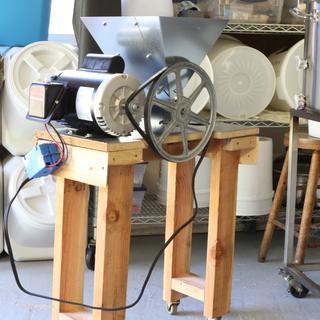 grainger parts # 3F380, 3X893, 1L839, and modified 3FJK1.