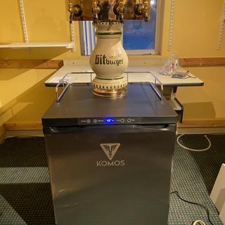 Komos V2 with Bit Burger 4 faucet tower.