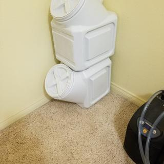 Storage for 55lbs.