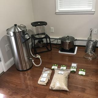 First all grain kit with the Anvil Foundry 10.5 gal all in one.