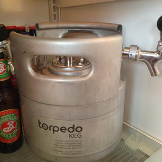 Finally a real keg that fits in my refrigerator. Love it!