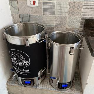 BrewZilla (65L) and RoboBrew (30L) side by side