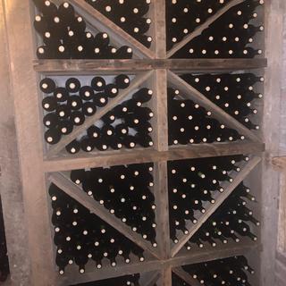 Wine storage, 55 degrees & 68% humidity, Time will tell regarding cork failure & spoilage