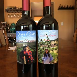 My wine in those gorgeous bottles!