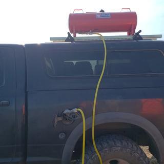 MoreGas 15gal Gas DOT tank Gravity Feed