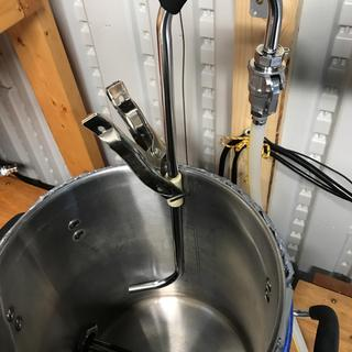 Works great in my 5.5 gallon SS Brewtec kettle.