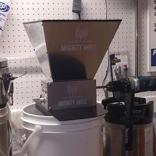 And my new Mighty Mill with three rollers is and awesome replacement for my old one.