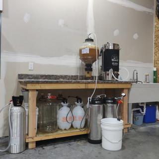 Brewstation with the Brewzilla