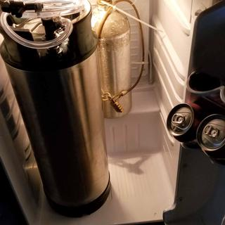 Placed this system in a 4.4 cuft Danby all-fridge mini-fridge. Fits perfectly.