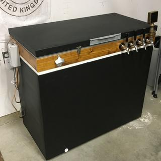 Couldn't be happier with the Intertap faucets on my keezer!