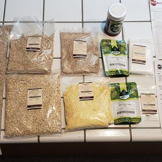 Grain kit unboxing.