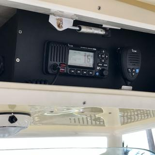 After - radio box install