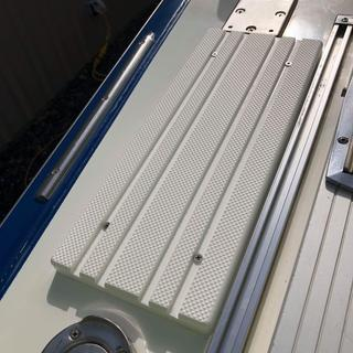 Deck step #2 - 28' Marinette