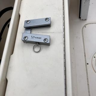 Installed v-lock using p-nuts on back side