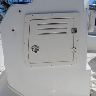 "19"" Boston Whaler Montauk center console access door"