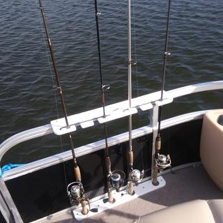 4 Rod Pontoon Rod Holder Boat Outfitters