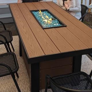 Great product for trim on an outdoor fire pit dining table i just built as a Christmas gift!!