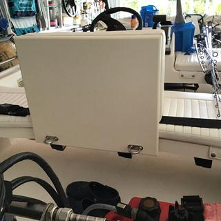 I used the Seafoam StarBoard as a backing for my Boston Whaler backrest added 2 ubolts for fixing