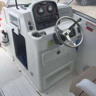 THIS GLOVE BOX I ADDED TO MY SEA HUNT 211 DC BOAT. THE S. I AM VERY HAPPY WITH THE NEW GLOVE BOX.