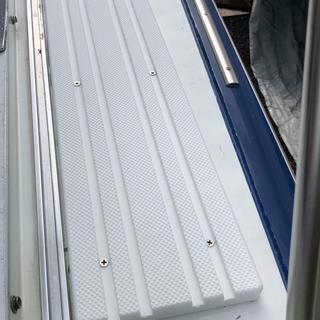 Deck step #1 - 28' Marinette