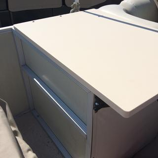 Port side hatch cover with new material