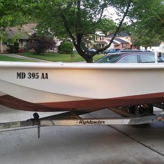 Total rebuild of Boston whaler