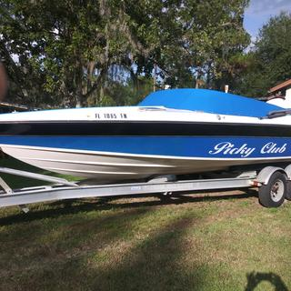 1986 Wellcraft Scarab 21
