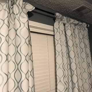 Curtains with blackout lining