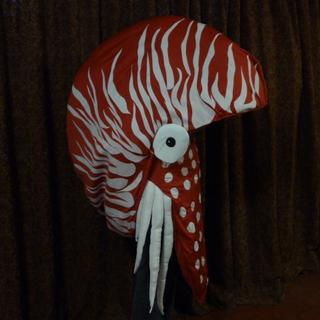 This unique Nautilus costume was only possible with the use of Extra Heavy Weight sew-in stabilizer.