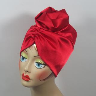 I  use this stretch Charmeuse silky fabric  to make turbans to sell on Etsy.