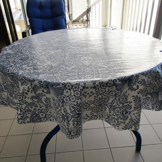 Old Fashioned Oilcloth Table