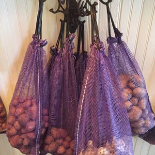 Potato & Onions from the garden; perfect for storage; easy to use!