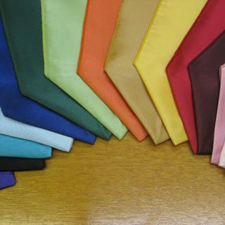 Satin Fabric great for scarves!