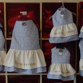 Doggie Harness Dresses inspired by the Wizard of OZ