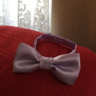 Bow tie for ring barer from satin material