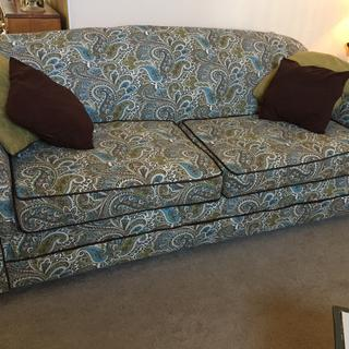 Reupholstered my couch and I just love it!