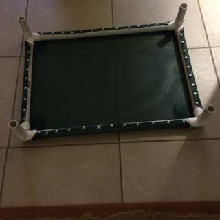 """Pet beds made with no waste  1 yard of material makes two beds. 1"""" pvc pipe"""
