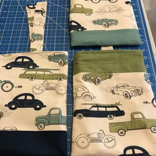 I love this fabric!  It really spoke to me!!  My car trash bags are really cute!
