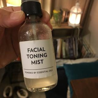 Facial toner using skin tone - see review for recipe