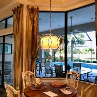 Sausalito 25 Inch 5 Light Chandelier By Troy Lighting
