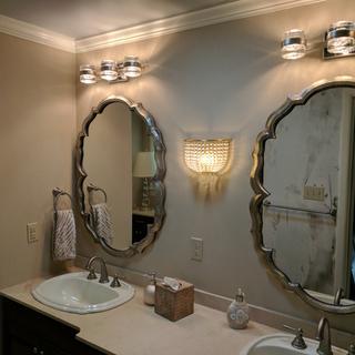 Splash 18 Inch 3 Light Led Bath Vanity