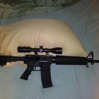 Love the gun....fast shipping and great customer service....added a Bushnell banner scope to it