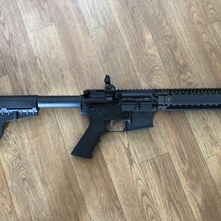 it's pretty cool now, but wait till it has the SB3A and AimPoint on it.